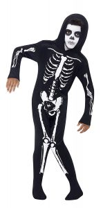 Childrens Halloween Costumes Skeleton