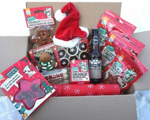 Dog Christmas Present Luxury Dog Gift Hamper