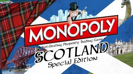 Monopoly Scotland Edition