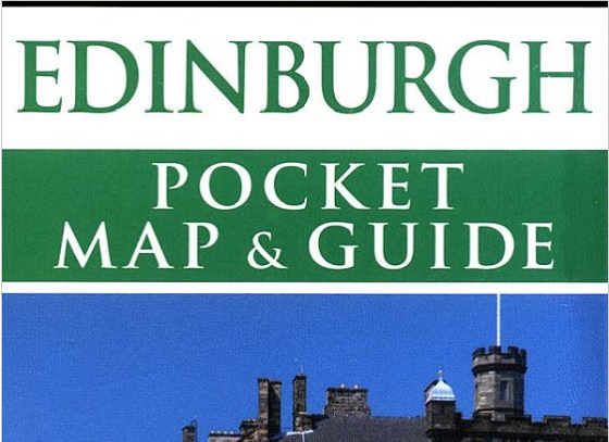 Edinburgh Pocket Tourist Guide & Map